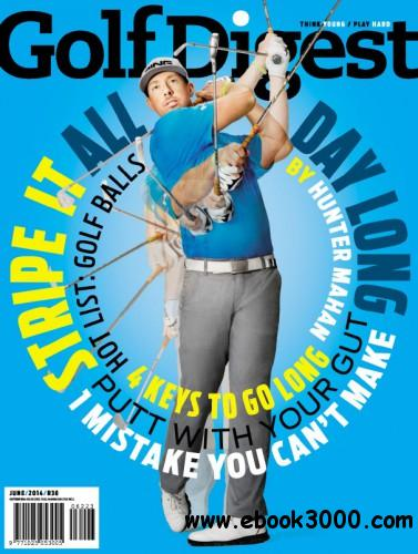 Golf Digest - June 2014 South Africa free download