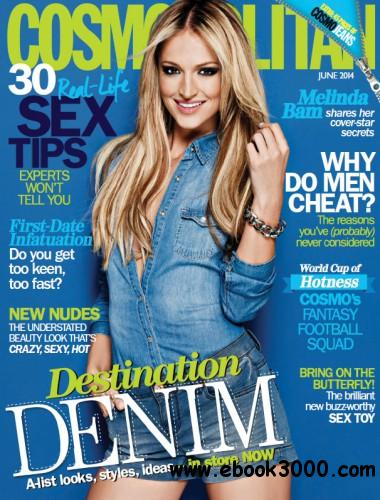 Cosmopolitan South Africa - June 2014 free download