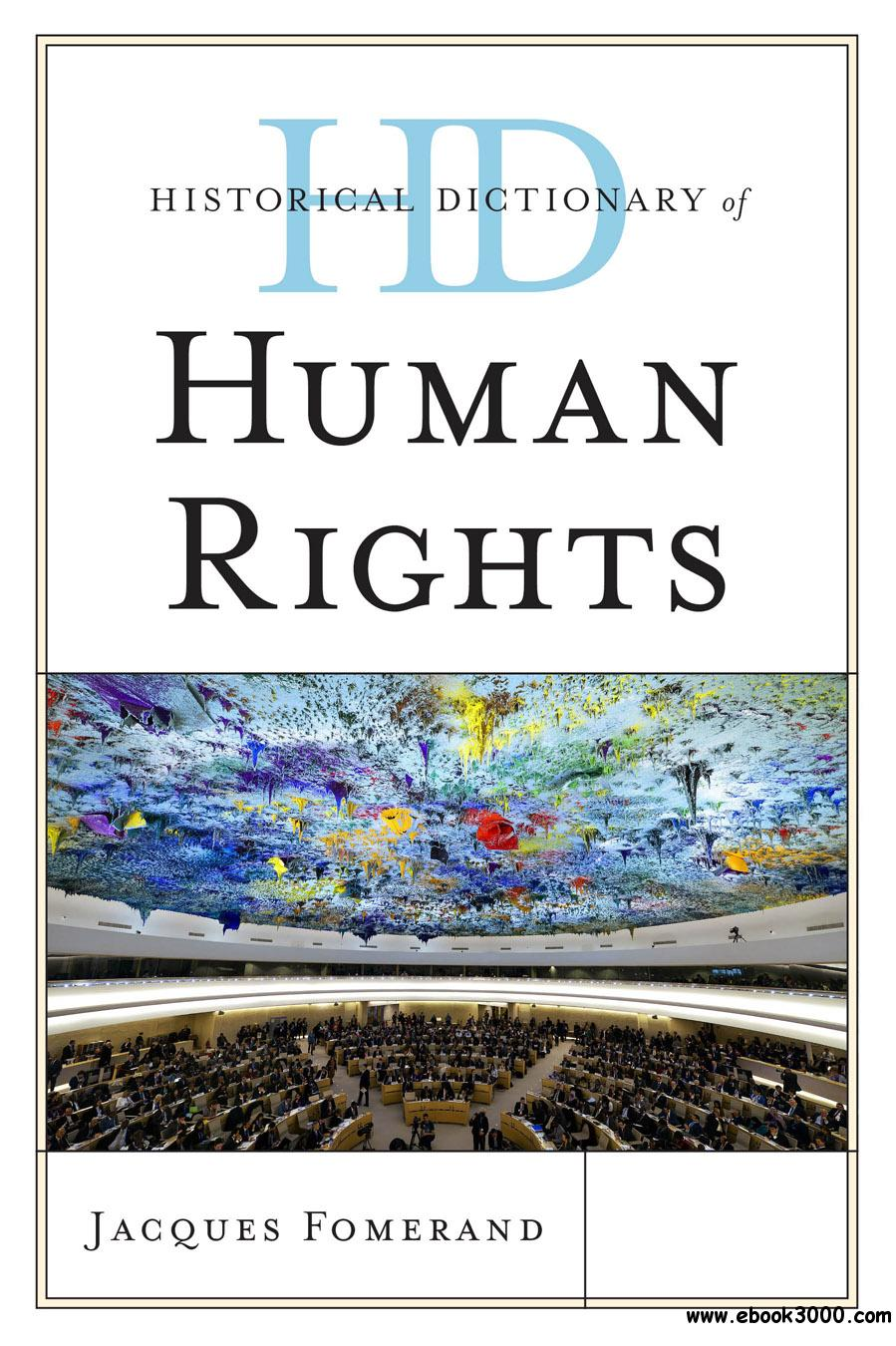Historical Dictionary of Human Rights free download