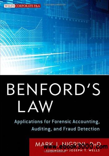 Benford's Law: Applications for Forensic Accounting, Auditing, and Fraud Detection free download