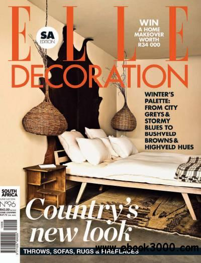 ELLE Decoration South Africa - June/July 2014 free download