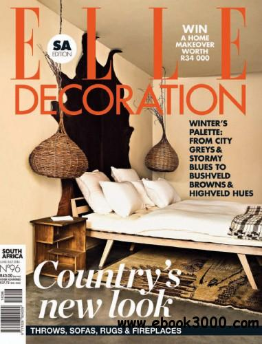 ELLE Decoration - June July 2014 South Africa download dree