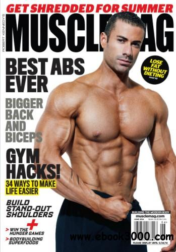 Muscle Mag - June 2014 free download