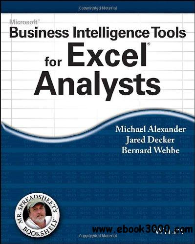 Microsoft Business Intelligence Tools for Excel Analysts free download