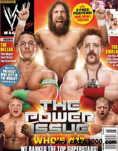 WWE Magazine - June 2014 free download