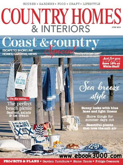 Country Homes & Interiors Magazine July 2014 free download