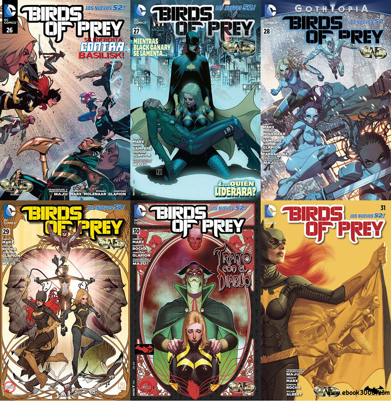 Birds of Prey Vol.3 #26-31 free download