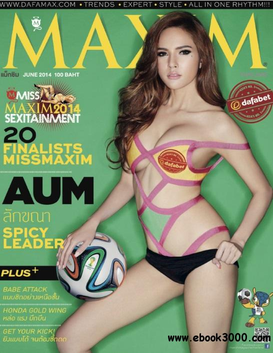 Maxim Thailand - June 2014 free download