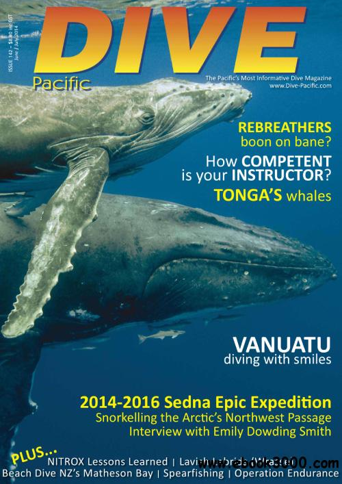 Dive Pacific-June-July 2014 free download