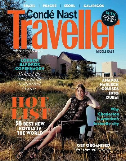 Conde Nast Traveller Middle East June 2014 free download