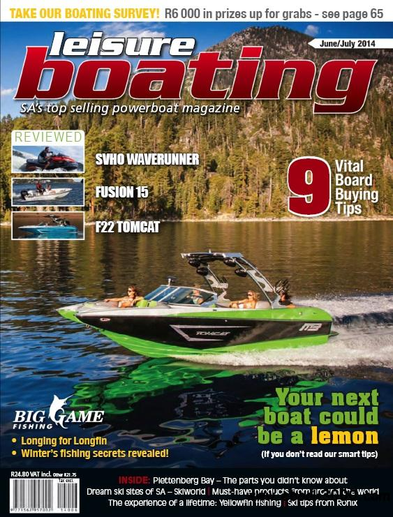 Leisure Boating Featuring Big Game Fishing - June/July 2014 free download