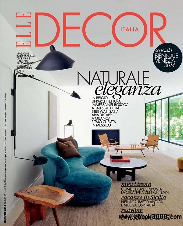 Elle Decor Italia - Giugno 2014 free download