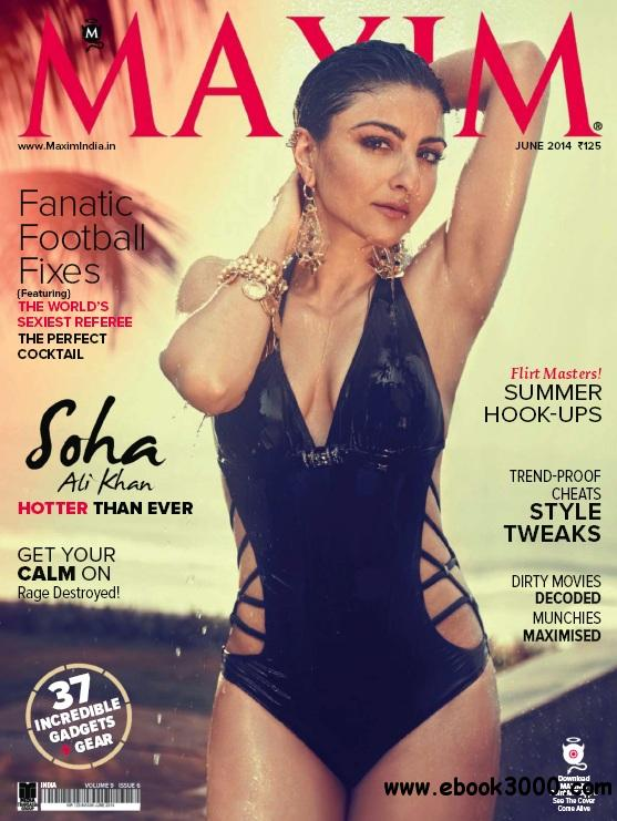 Maxim India - June 2014 free download