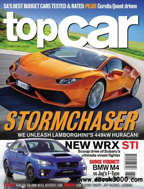 Topcar South Africa - July 2014 free download