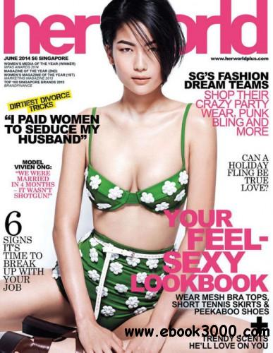 Her World Singapore - June 2014 free download