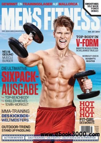 Men's Fitness Germany - Juli 2014 free download