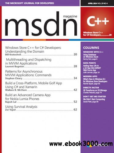 MSDN Magazine - April 2014 free download