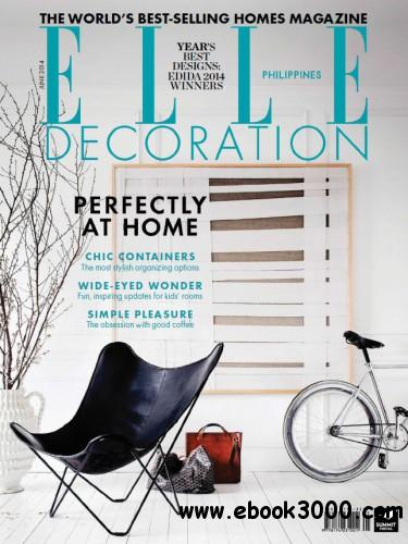 ELLE Decoration Philippines - June 2014 free download