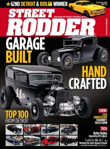 Street Rodder - August 2014 free download