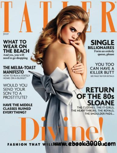 Tatler UK - July 2014 download dree