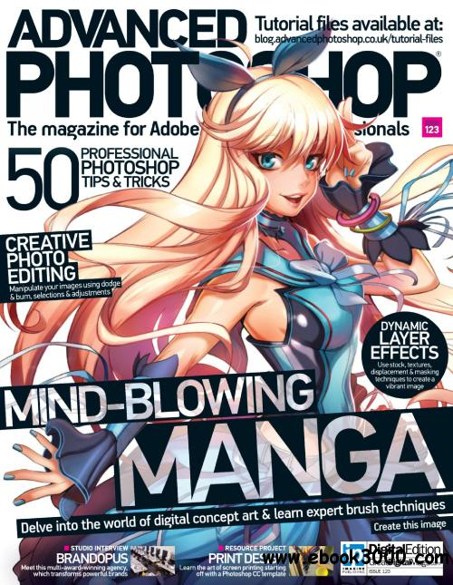 Advanced Photoshop UK - Issue 123, 2014 free download