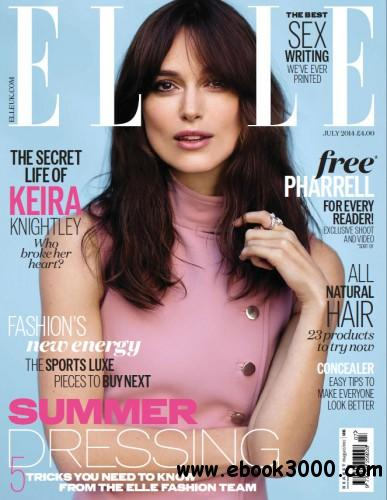 Elle UK - July 2014 free download