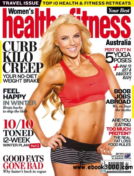 Women's Health and Fitness Australia - July 2014 download dree