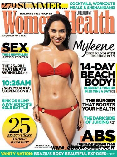 Women's Health UK - July August 2014 free download