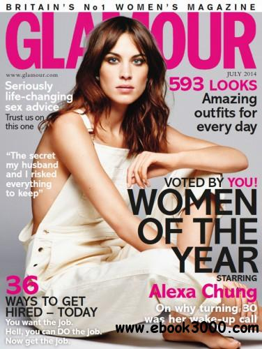 Glamour UK - July 2014 free download