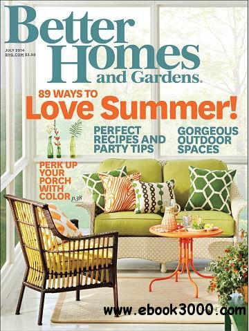 Better Homes And Gardens Magazine July 2014 Free Download