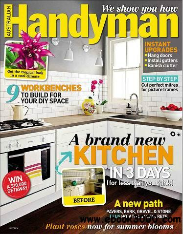 Australian Handyman Magazine June 2014 free download