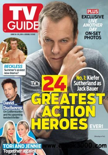 TV Guide Magazine - 16 June 2014 free download