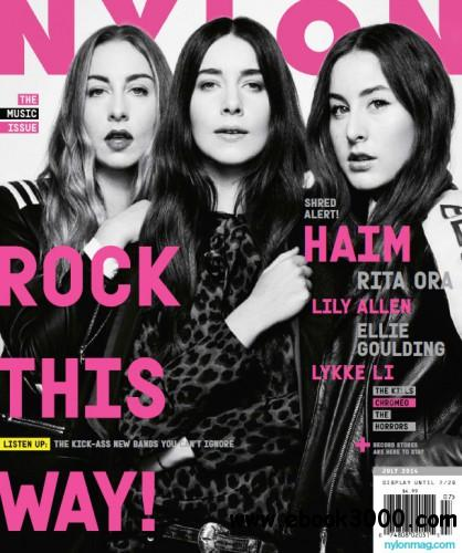NYLON - June July 2014 free download