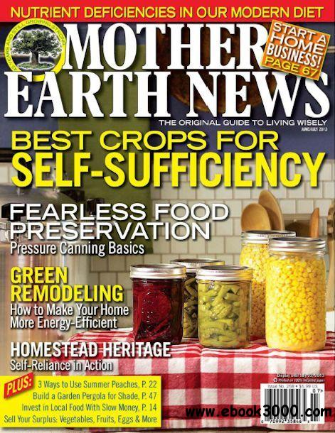 Mother Earth News -June/July 2013 free download