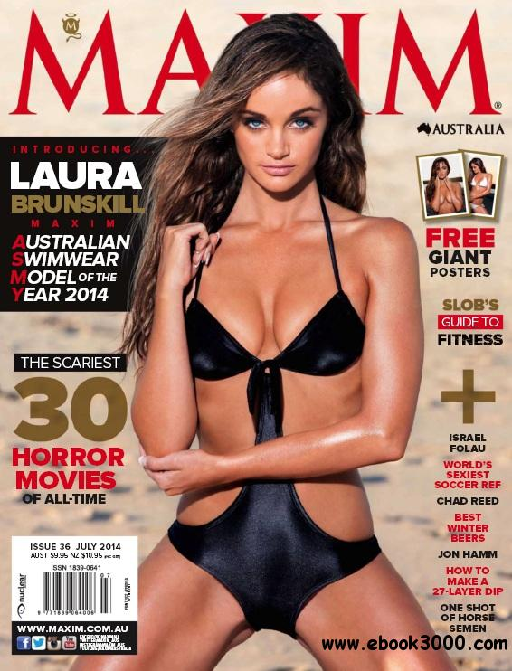 Maxim Australia - July 2014 free download
