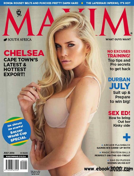 Maxim South Africa - July 2014 free download