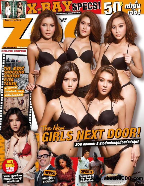 Zoo Weekly Thailand - 16 June 2014 free download