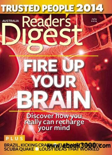 Reader's Digest Australia - July 2014 free download