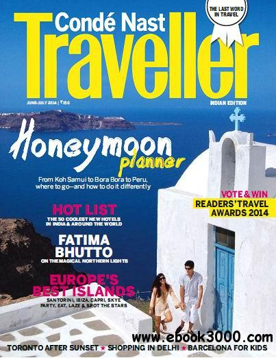 Conde Nast Traveller India - June/July 2014 free download