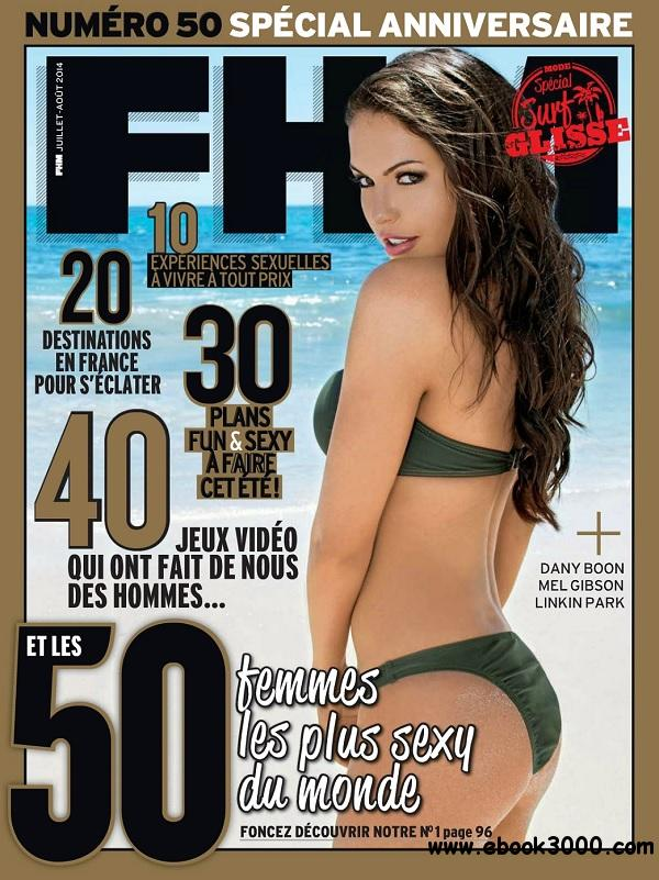FHM France - Juillet/Aout 2014 free download