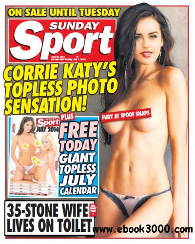 Sunday Sport - 29 June 2014 free download