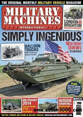 Military Machines International - August 2014 free download