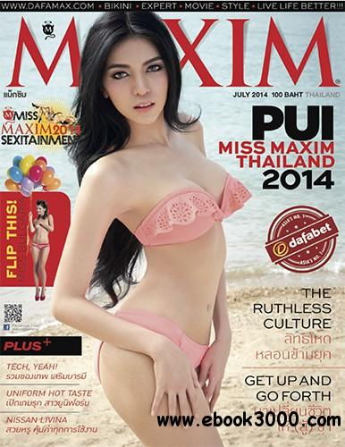 Maxim Thailand - July 2014 free download
