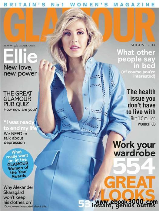 Glamour UK - August 2014 free download