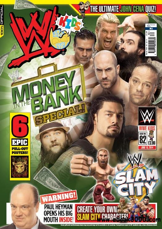WWE Kids - July 2014 free download