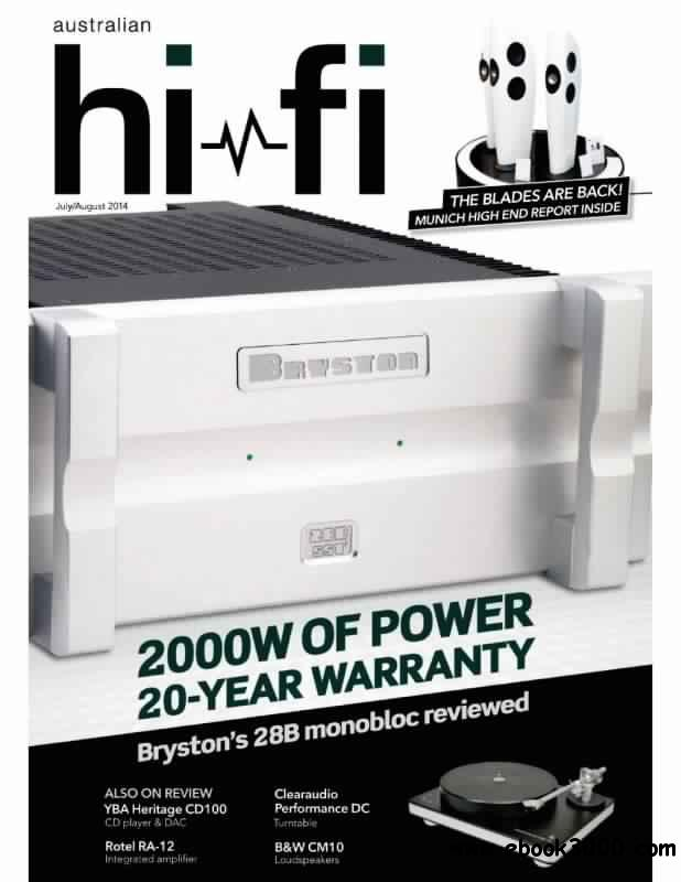 Australian HiFi - July-August 2014 free download