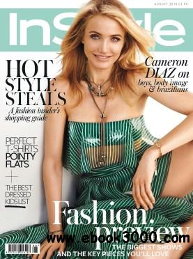 Instyle UK - August 2014 free download