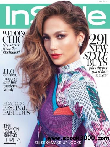 InStyle UK - July 2014 free download