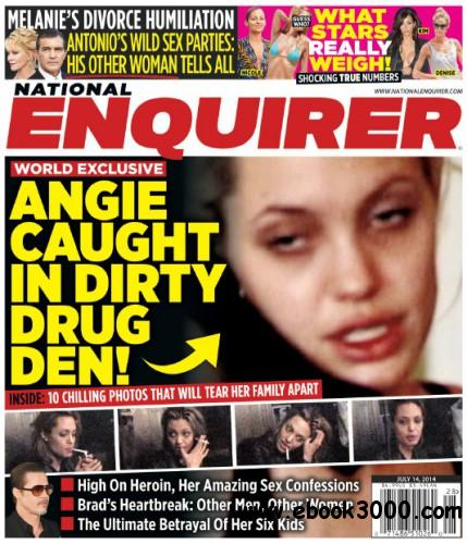National Enquirer - 14 July 2014 free download