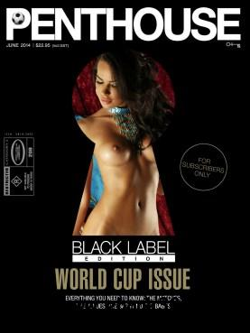 Australian Penthouse Black Label - June 2014 free download